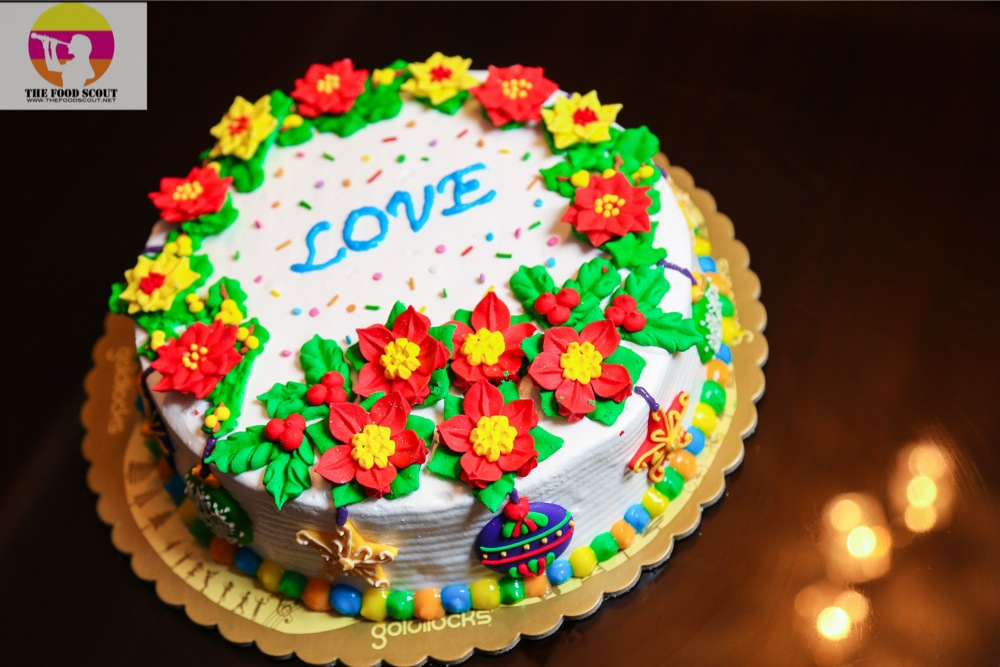 Goldilocks Decorate Your Christmas Cake The Food Scout