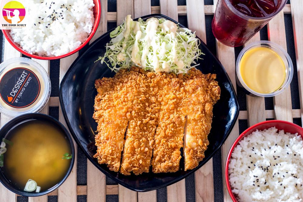 Big Chicken Katsu In Tokyo Tokyo The Food Scout