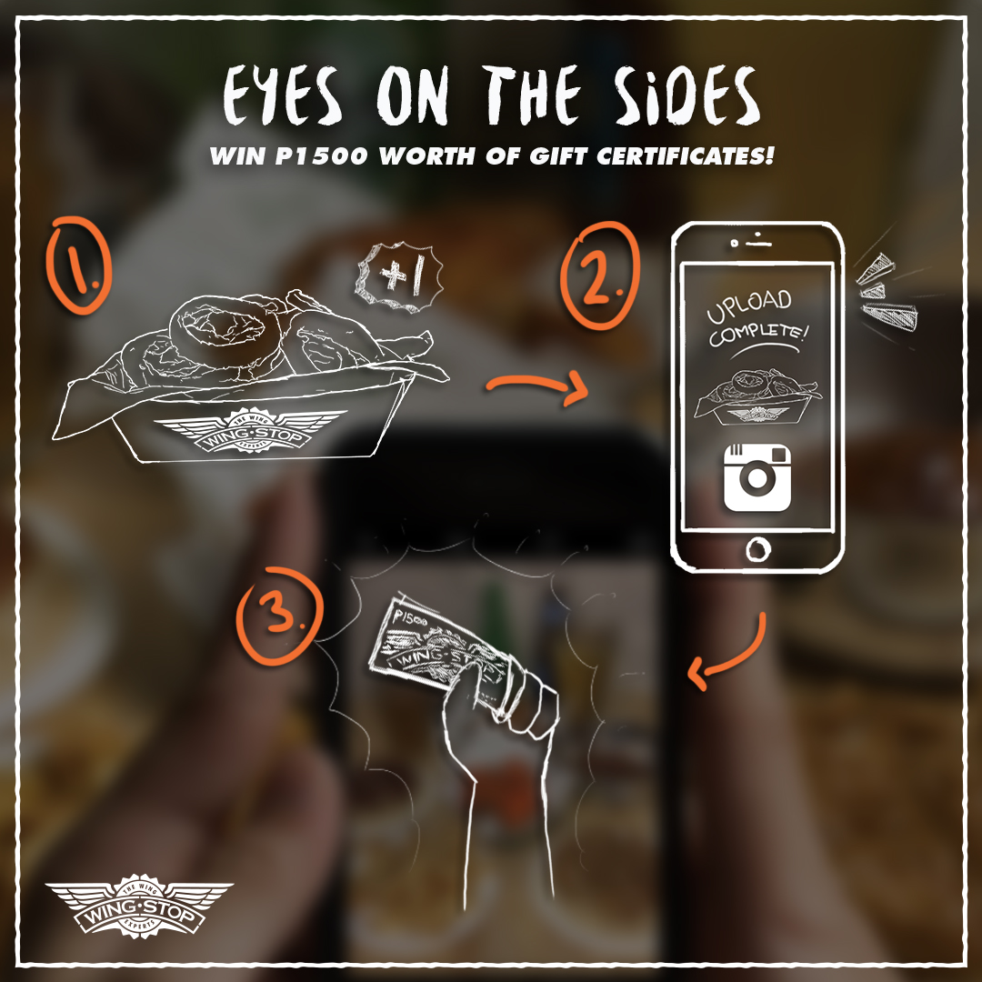 Wingstop Eyes on the Sides Instagram Contest
