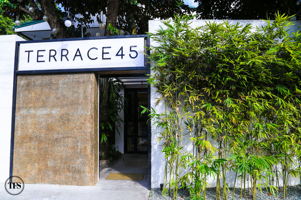 Terrace 45 in quezon city the food scout for Terrace 45 restaurant