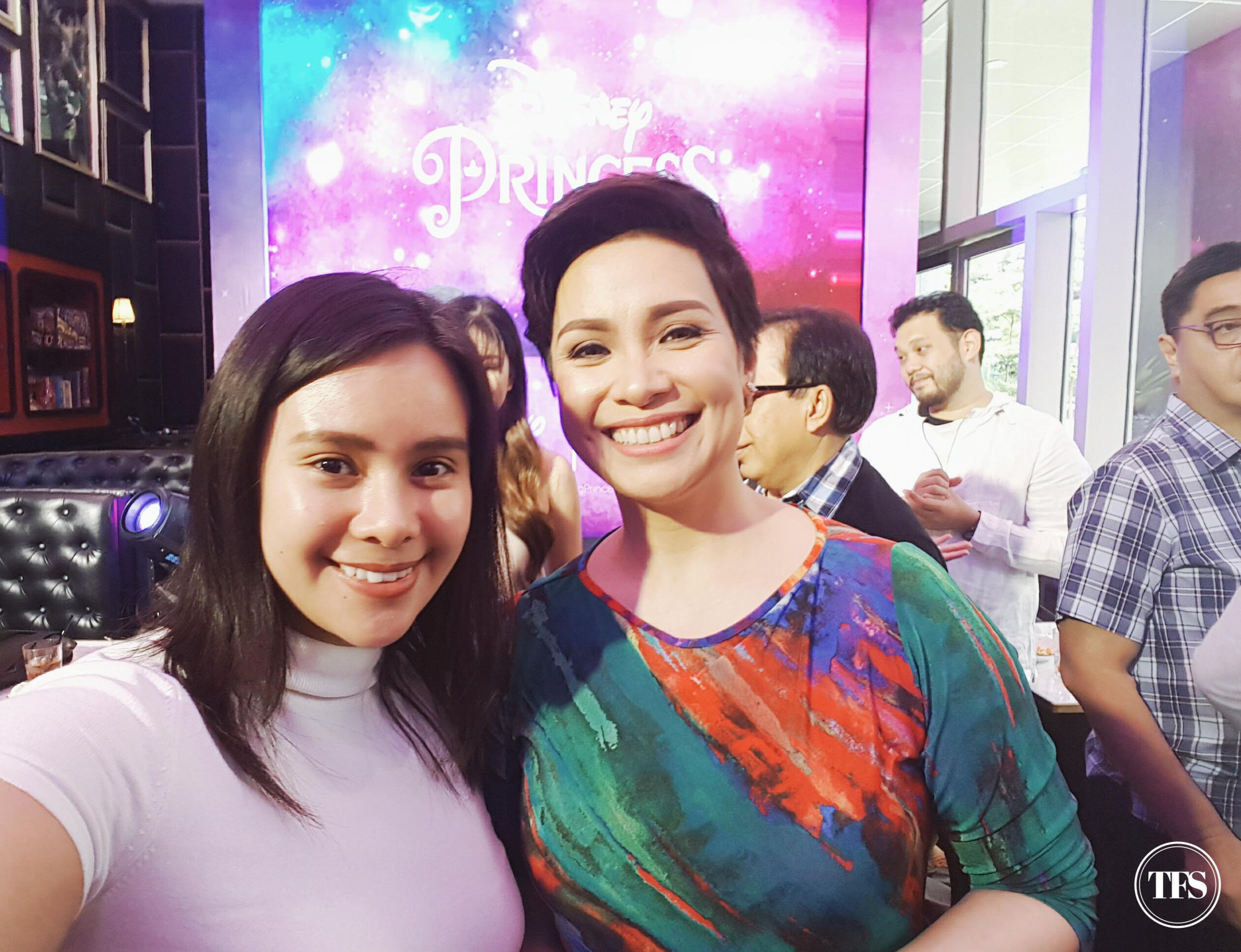 with Lea Salonga
