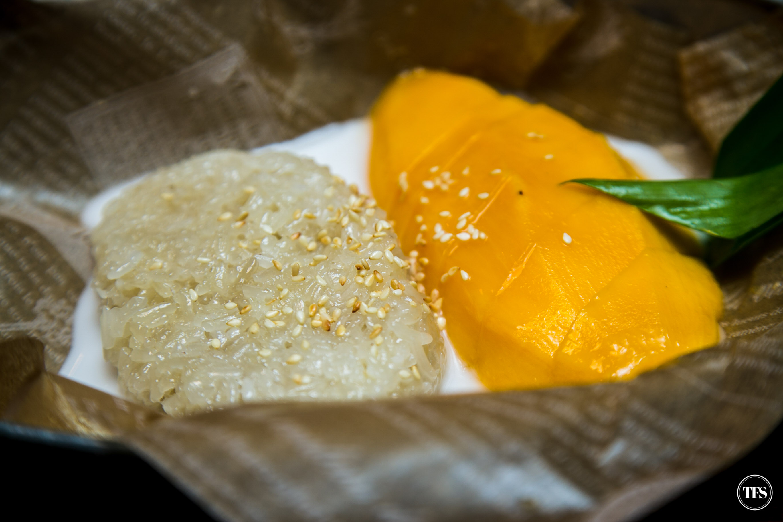 siam thai sticky rice mango