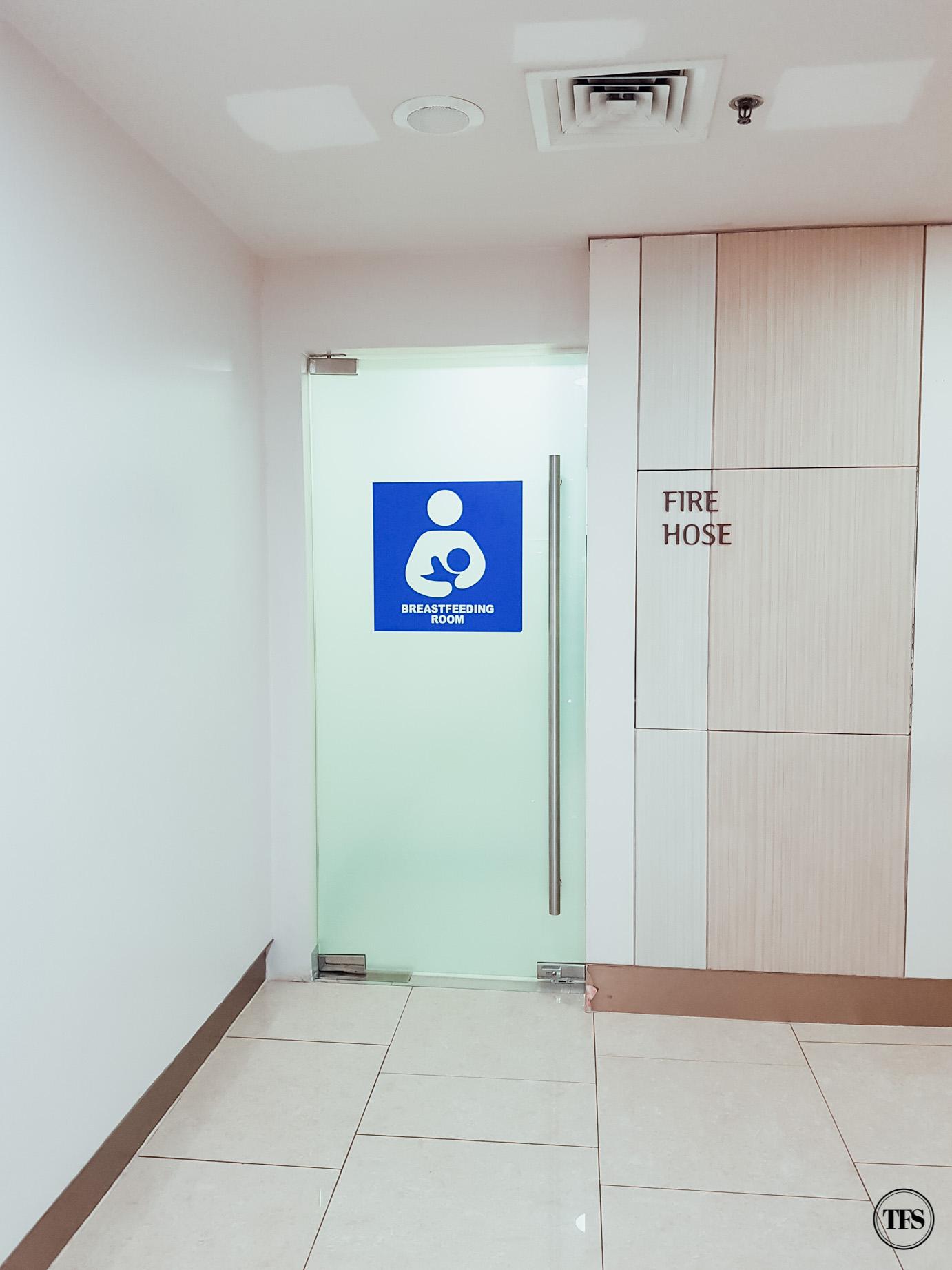 Mom Life Shangri La Plaza Mall Breastfeeding Room The