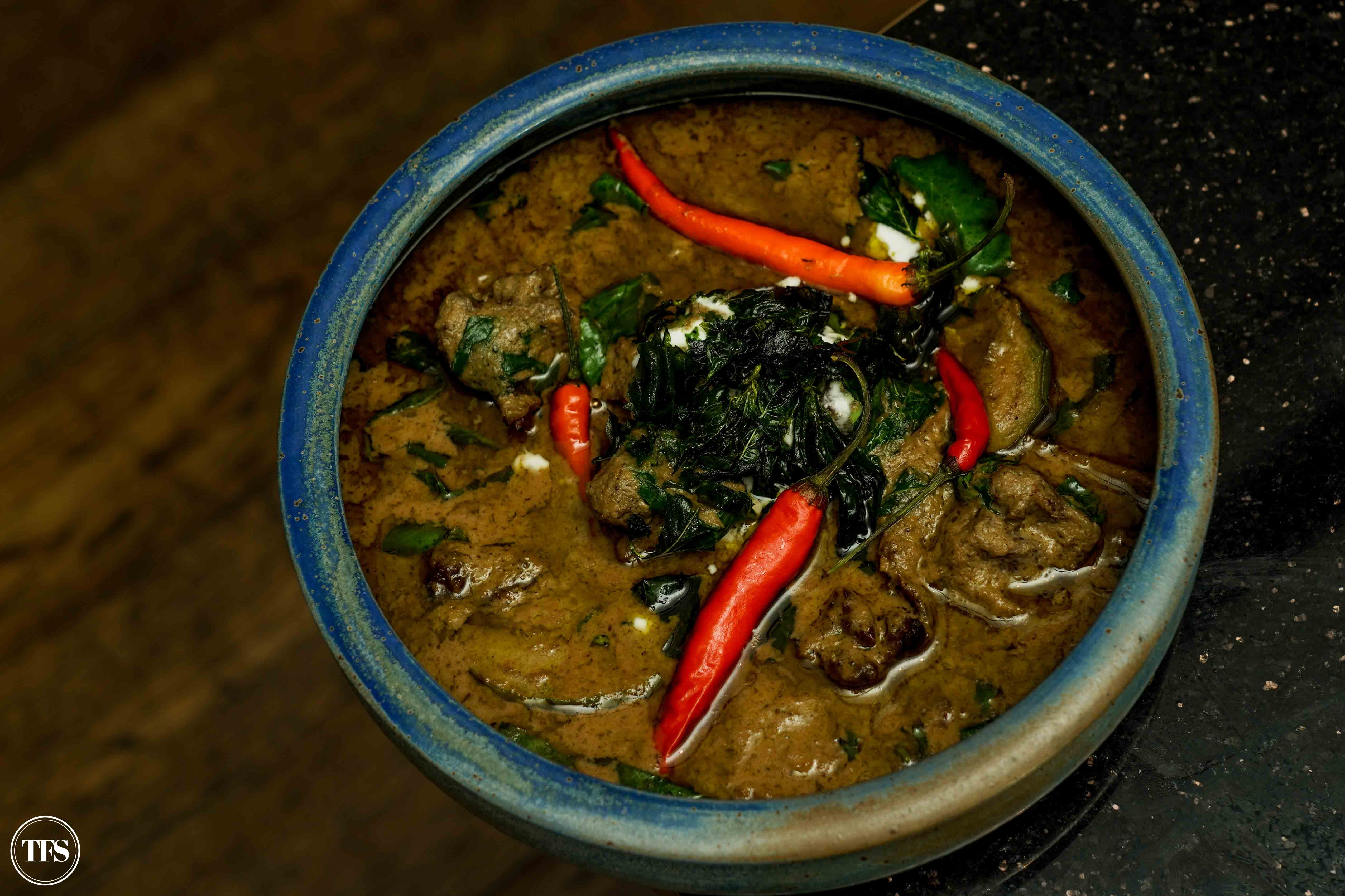 beef curry thai green